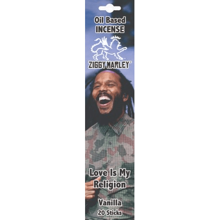 Incense Ziggy Marley - Love is My Religion Vanilla - Incense Sticks 100442