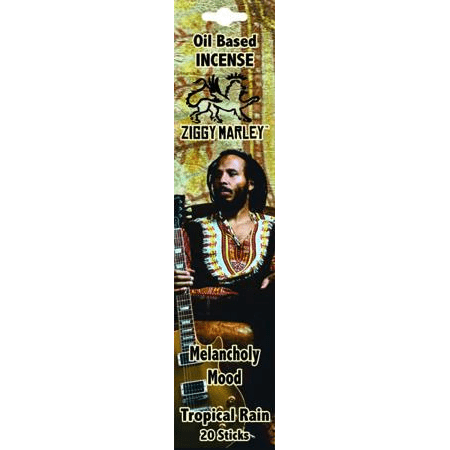 Incense Ziggy Marley - Melancholy Mood Tropical Rain - Incense Sticks 100427