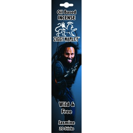 Incense Ziggy Marley - Wild & Free Jasmine - Incense Sticks 100444