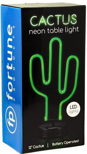 Lights Cactus - Neon LED Table Light 100240