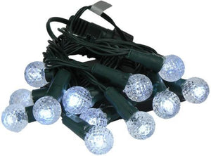 lights Faceted Accents - White - Mini String Lights 004855
