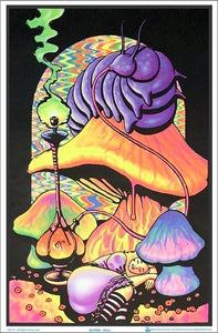 Posters Alice in Wonderland Dreaming - Black Light Poster 002988
