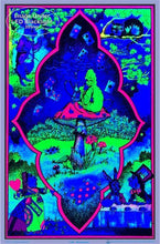 Load image into Gallery viewer, Posters Alice in Wonderland - Mushroom - Black Light Poster 100176