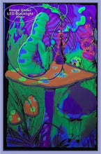 Load image into Gallery viewer, Posters Alice in Wonderland - Psychedelic Alice - Black Light Poster 100180