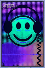Load image into Gallery viewer, Posters Audio Smiley - Black Light Poster 100150