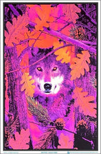 Load image into Gallery viewer, Posters Autumn Wolf - Black Light Poster 007512