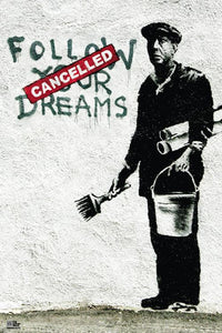Posters Banksy - Follow Your Dreams - Poster 007984
