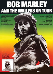 Posters Bob Marley and the Wailers - On Tour - Poster po-277