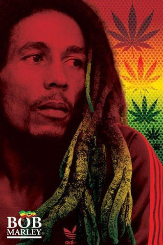 Posters Bob Marley - Dreads - Poster 000541