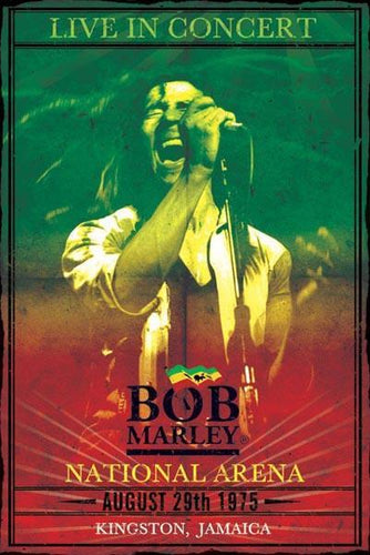 Posters Bob Marley - Live In Concert - Poster 000539