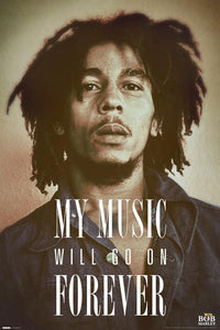 Posters Bob Marley - My Music Will Go on Forever - Poster 007998