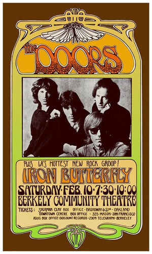 Posters Bob Masse - The Doors - Berkeley - Poster 004267