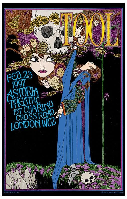 Posters Bob Masse - Tool - London - Concert Poster