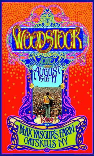 Posters Bob Masse - Woodstock - Poster 008423