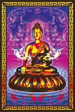 Load image into Gallery viewer, Posters Buddha - Black Light Poster 100195