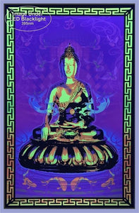 Posters Buddha - Black Light Poster 100195