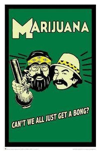 Posters Cheech and Chong - Can't We All Just Get a Bong - Poster 007334