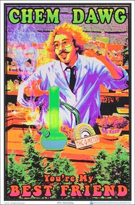 Posters Chem Dawg 420 - Black Light Poster 100078
