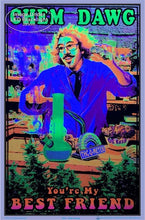 Load image into Gallery viewer, Posters Chem Dawg 420 - Black Light Poster 100078