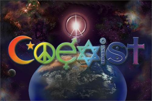 Posters Coexist - World  - Poster 001498