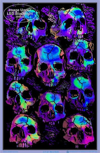 Posters Crypt Skulls - Black Light Poster 100169