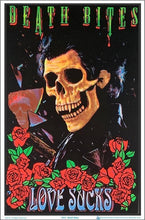 Load image into Gallery viewer, Posters Death Bites Love Sucks - Black Light Poster 100145