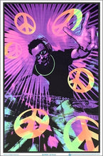 Load image into Gallery viewer, Posters DJ Peace - Black Light Poster 100166