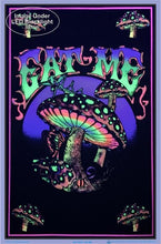 Load image into Gallery viewer, Posters Eat Me Mushrooms - Black Light Poster 100050