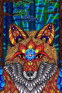 Posters Electric Fox - Poster 008372