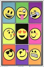 Load image into Gallery viewer, Posters Emoji - Black Light Poster 100148