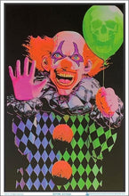 Load image into Gallery viewer, Posters Evil Clown - Black Light Poster 100149