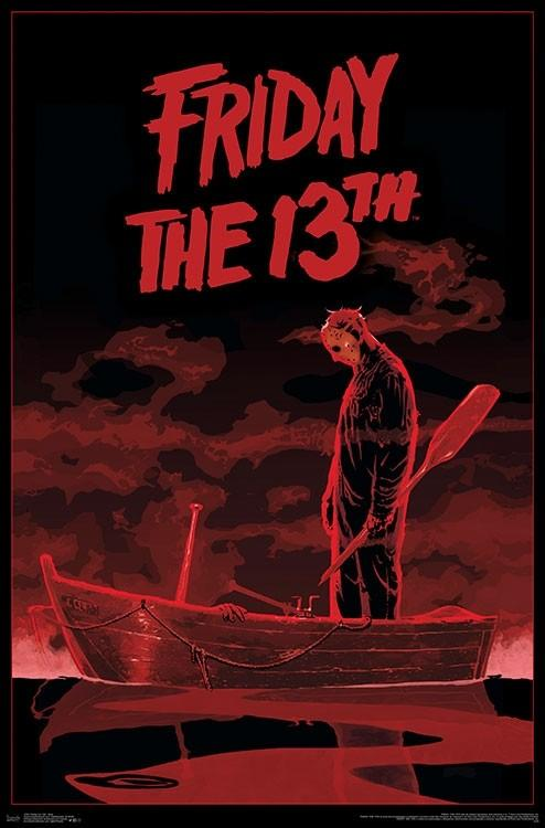 Posters Friday the 13th - Boat - Poster 101001