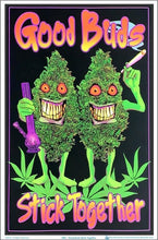 Load image into Gallery viewer, Posters Good Buds Stick Together - Black Light Poster 005191