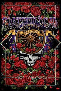 Posters Grateful Dead - 40th Anniversary - Poster po-280