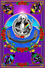 Load image into Gallery viewer, Posters Grateful Dead - Deadheads Over the Golden Gate Bridge - Black Light Poster 004224