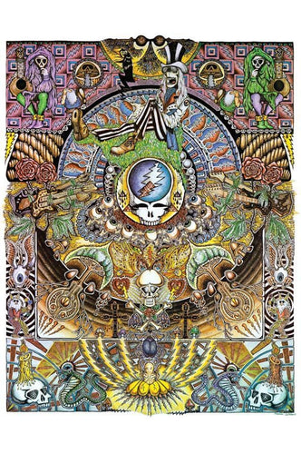 Posters Grateful Dead - Mandala Collage - Poster po-70