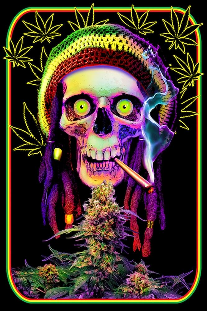 Posters Grateful Dreads - Black Light Poster 100333