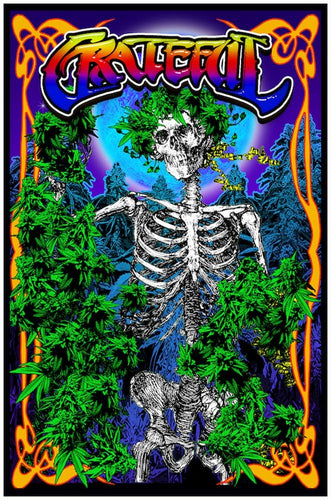 Posters Grateful Weed - Black Light Poster 100332