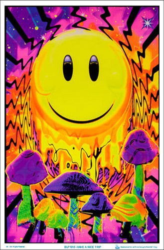 Posters Have a Nice Trip - Black Light Poster 006518