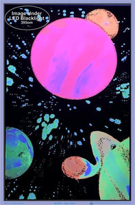 Posters Hyper Space - Black Light Poster 009326