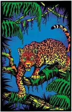 Posters Jaguar - Black Light Poster 000026