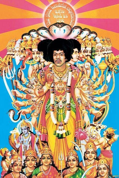 Posters Jimi Hendrix - Axis Bold as Love - Poster po-221