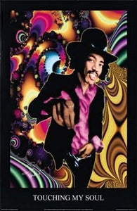 Posters Jimi Hendrix - Touching My Soul - Poster 000001