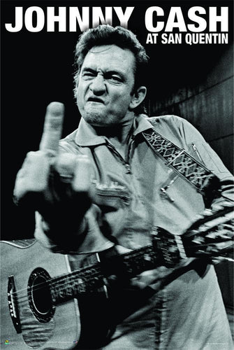 Posters Johnny Cash - Finger - Poster 100832