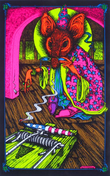Posters Joint Sourcer Nothing Wrong - Black Light Poster 000535