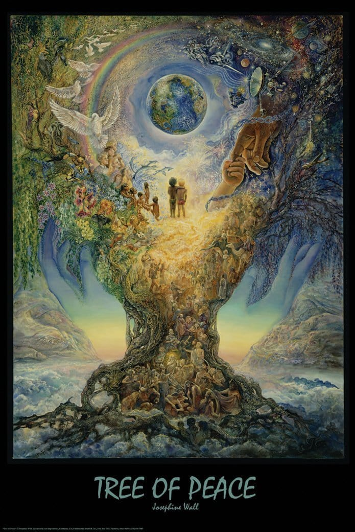 Posters Josephine Wall - Tree of Peace - Poster po-269