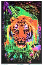 Load image into Gallery viewer, Posters Jungle Tiger - Black Light Poster 100157