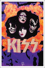 Load image into Gallery viewer, Posters KISS - Black Light Poster 100165