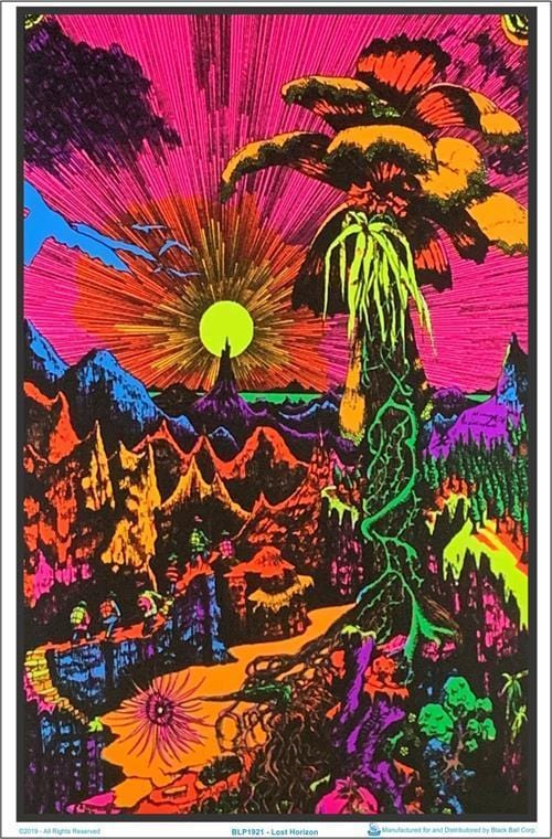 Posters Lost Horizon - Black Light Poster po-147