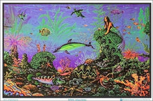 Load image into Gallery viewer, Posters Mermaid Octopus Garden - Black Light Poster 100069